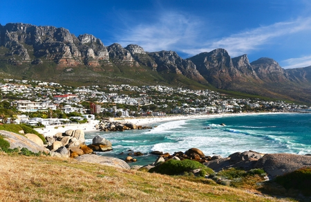 Camps Bay is the popular tourist destination in Cape Town, South Africa