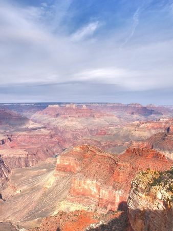 The Grand Canyon in Arizona, United States