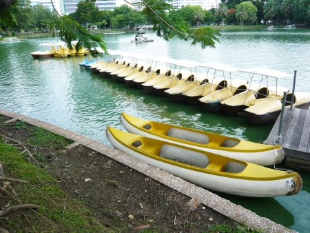 Rowboat Pedal Boat photo