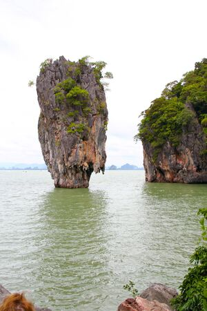 Koh Tapu Limestone Sea Thailand photo