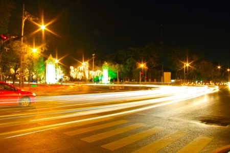 Night Light Speed City photo