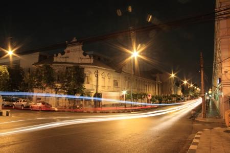 Night Light Speed City photo
