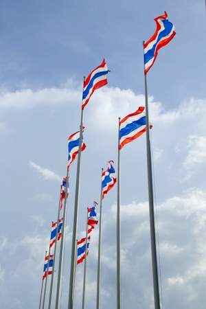 thailander: Thailand Flag Stock Photo