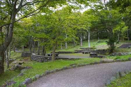 meditaion: Japanese garden park