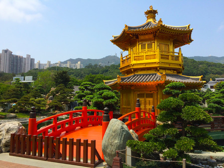 meditaion: Chi Lin Nunnery Zen garden park