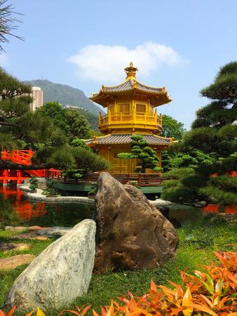 Chi Lin Nunnery Zen garden park photo
