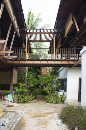bungalow: terrace wood bungalow
