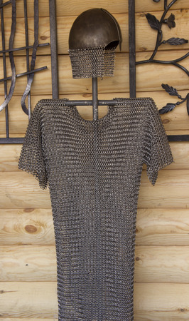 Knight's chain mail.