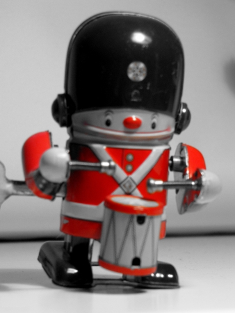Drumming toysoldier photo