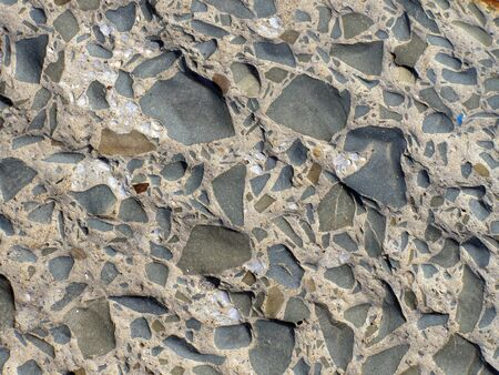 Gray stone background with small stones Stock Photo - 13159579