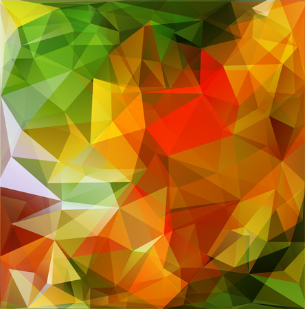multicolored: Abstract polygonal background with multicolored triangles. EPS-10 Stock Photo
