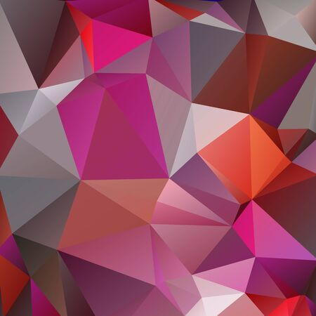 Abstract polygonal background with pink and gray triangles.  イラスト・ベクター素材
