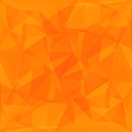 background orange: Polygonal bright abstract background with orange triangles