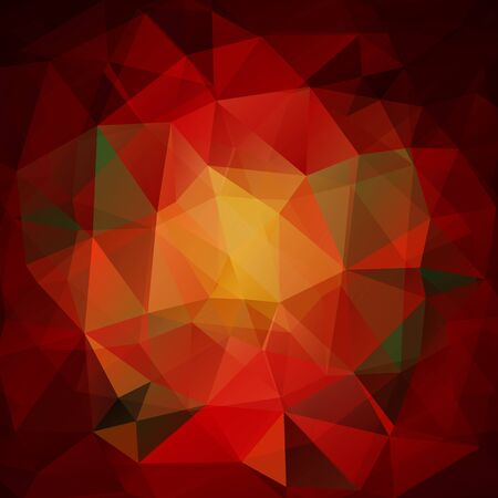 rojo oscuro: Polygonal abstract background with light and dark red triangles.