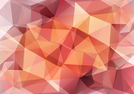 backdrops: Polygonal monochrome abstract background with beige and brown triangles.