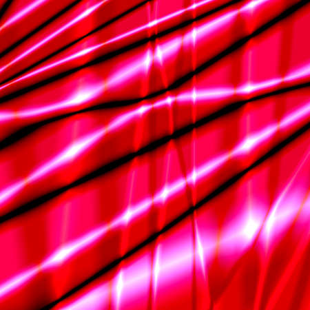 pleat: Silk abstract background with pink bright glossy texture. Stock Photo