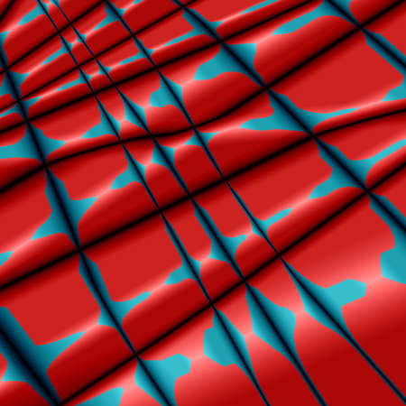 pleat: Silk abstract background with  red-blue grunge texture.