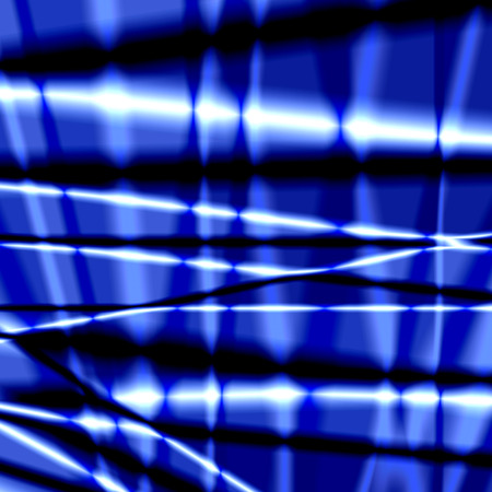 pleat: Silk abstract background with blue glossy texture. Stock Photo