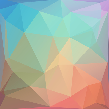 colored: Polygonal abstract background with colored triangles. Illustration