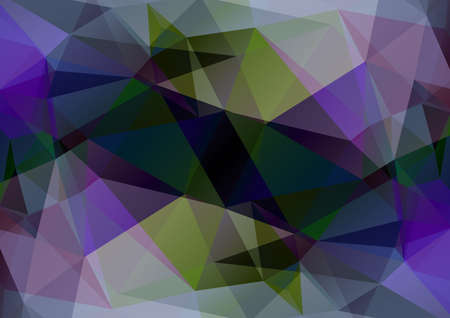 blue violet: Polygonal abstract background with blue and violet triangles.