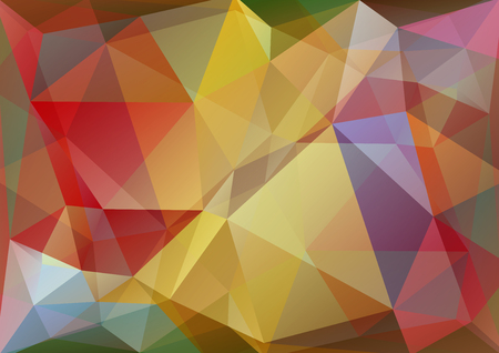 violet red: Polygonal abstract background with red and violet triangles.