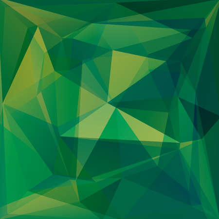 drawings image: Polygonal abstract monochrome background with green triangles.