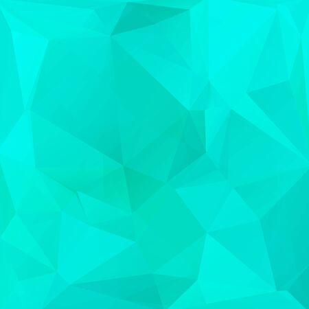 bright: Polygonal abstract background with bright blue triangles.