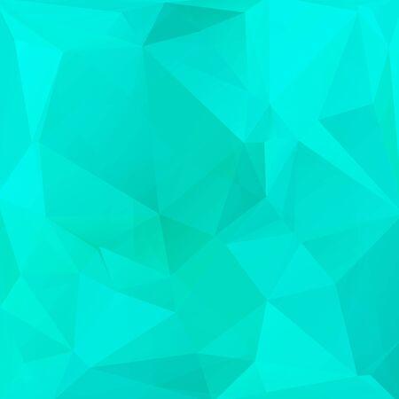 resumen de antecedentes poligonal con triángulos azules brillantes. Ilustración de vector