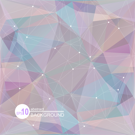 violeta: Polygonal abstract background with violet and blue triangles.