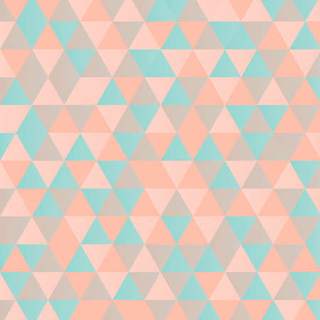 mint: Abstract background with pink and mint triangles.