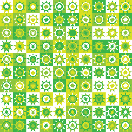 drawings image: Abstract background with green and white elements.
