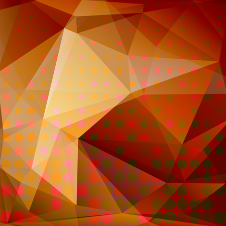 light brown background: Polygonal abstract background with light brown and beige triangles. Illustration