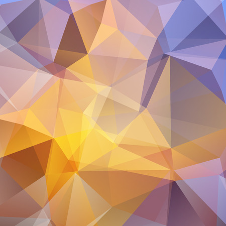 blue violet: Polygonal abstract background with blue and violet triangles. Looks like stylized sky.