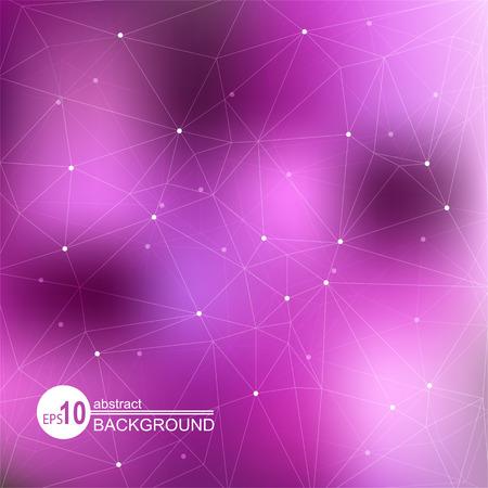 fondos violeta: Fondo abstracto con puntos oscuros y violeta de loght.