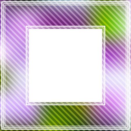 fondos violeta: fronteriza brillante abstracto con violeta y manchas verdes. Foto de archivo