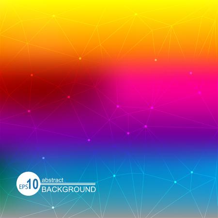 Abstracte achtergrond met heldere kleuren van de regenboog. Vector Illustratie