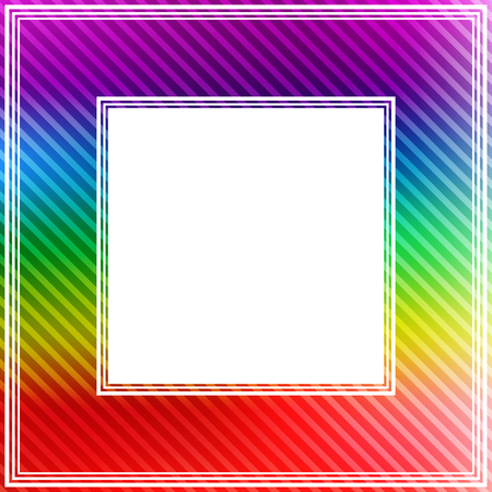 bright: Abstract bright colorful rainbow border.