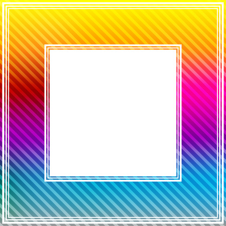 rainbow colors: Abstract border with bright rainbow colors. Stock Photo