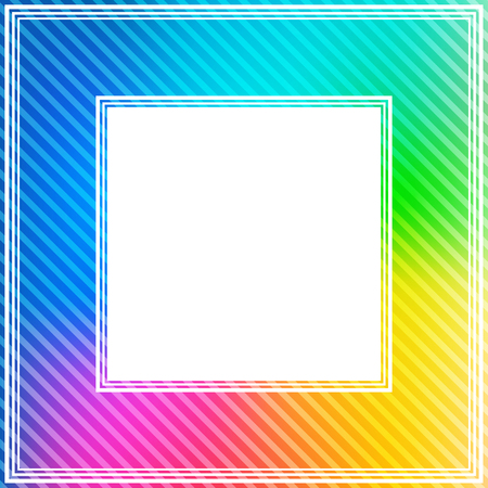 rainbow colors: Abstract bright border with rainbow colors.