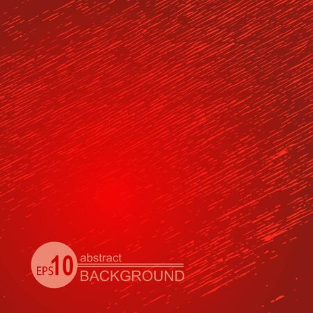 Red abstract grunge background. Monochrome texture. Design element for banners or flyers.