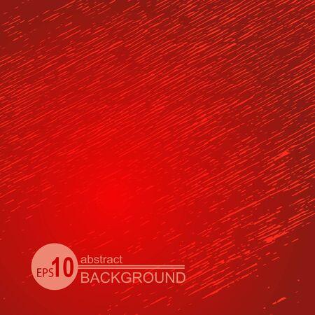 Fond rouge grunge abstrait. Texture monochrome. Élément de conception pour les bannières ou les dépliants.