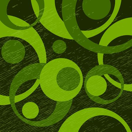 résumé motif coloré avec des cercles et des points de conception de points pour bannières ou de conception