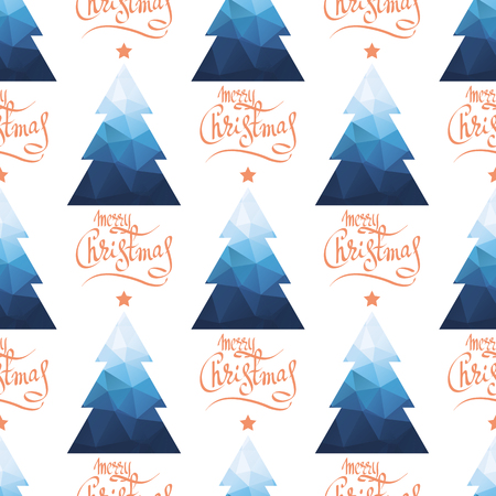 Seamless pattern with Christmas balls. New Year and Christmas illustration. Design element for fabric, wallpaper or gift wrap. Illustration