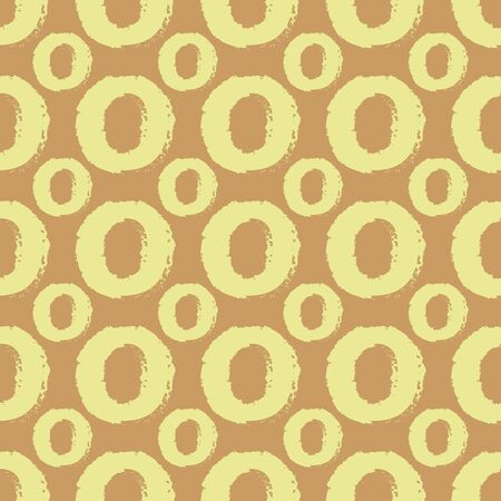 Seamless pattern with rings. Vector illustration. Design element for wallpaper, wrapping paper or fabric.  イラスト・ベクター素材