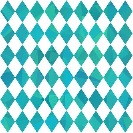 Oktoberfest blue abstract background. October beer festival in the Munich, Germany. Vector illustration. Bavarian flag seamless pattern. Design element for wallpaper, wrapping paper or fabric. Vetores
