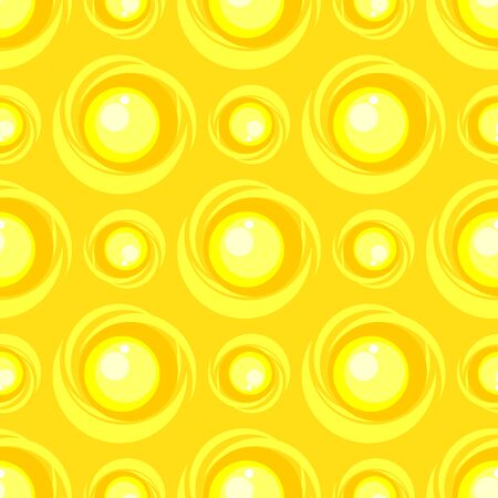 Seamless pattern with sun. Summer vector illustration. Design element for fabric, wallpaper or wrapping paper.