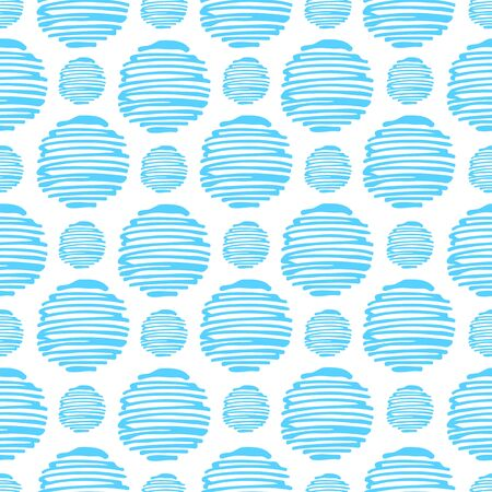 Abstract seamless pattern. Vector illustration. Design element for wallpaper, fabric or wrapping paper.