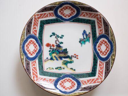 日本の小皿 写真素材