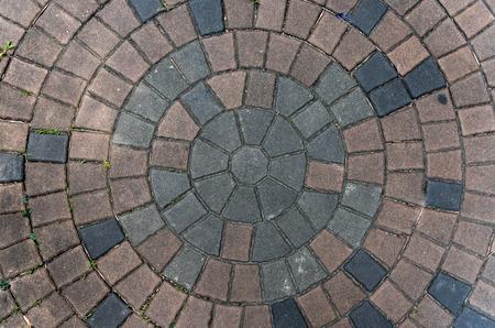Concrete pattern, Path Walk Therapy Relaxation Zdjęcie Seryjne