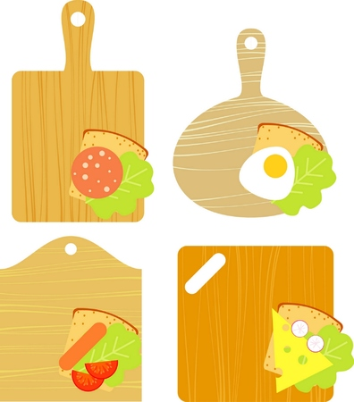 omelette: board Illustration
